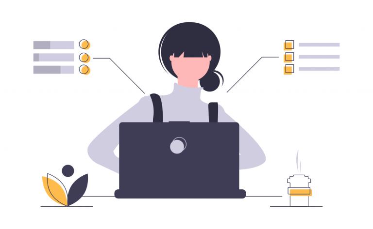 productivité-illustration- page d'accueil draftr