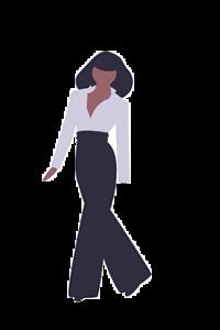 illustration businesswoman