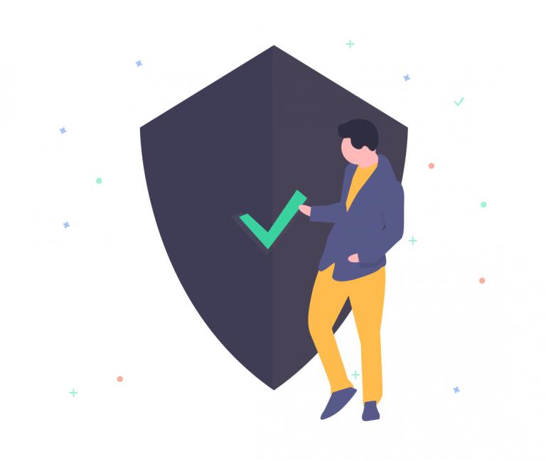 illustration sécurité- page d'accueil draftr