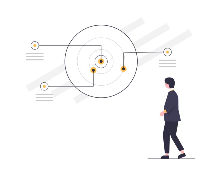 illustration définition des objectifs - intelligence artificielle - draftr