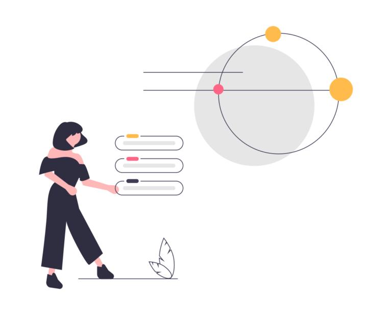illustration process - intelligence artificielle - draftr