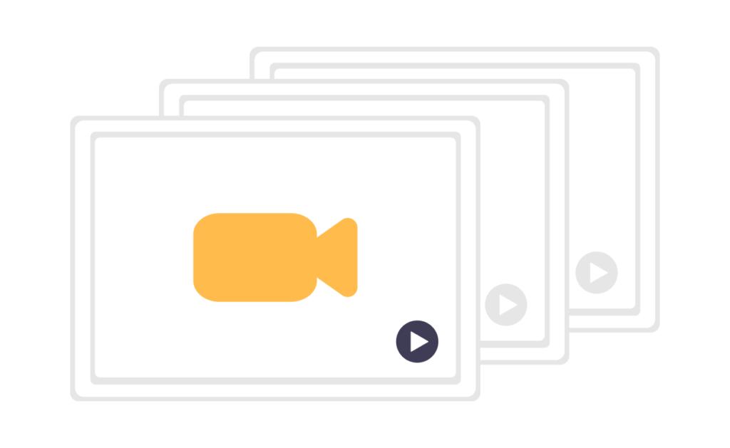 Illustration de vidéos